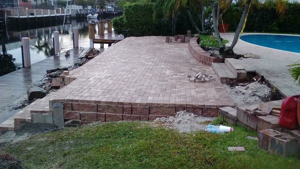 Fort Lauderdale Brick Patio Contractor