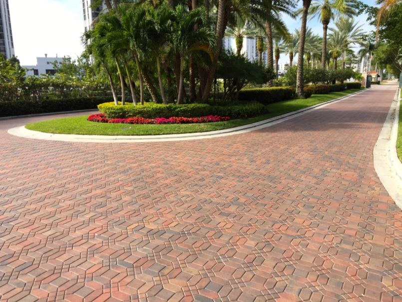 stunning pavers installation in Fort Lauderdale